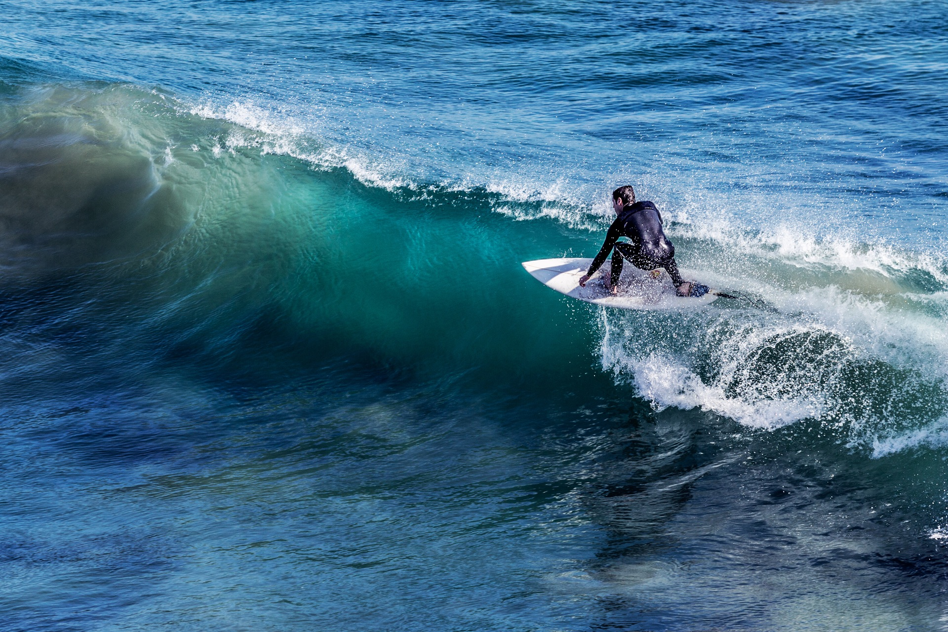 The Surfing Man Will Blow Your Mind